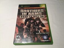 Brothers in Arms: Road to Hill 30 (Microsoft Xbox) Original Complete Nr Mint!