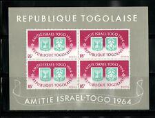 WORLDWIDE  OLYMPICS  1964  TOGOLAISE   SOUVENIR LIST, LOT  # 19 B