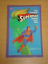 SUPERMAN GREATEST STORIES EVER TOLD VOL 1 DC GRAPHIC NOVEL < 0930289390