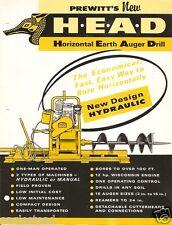 Equipment Brochure - Prewitt - HEAD - Horizontal Earth Auger Drill (E2244)