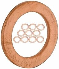 "10/pk 9/16"" or 14 mm ID - COPPER CRUSH WASHERS for M14 Metric or Banjo Bolt L-EY"