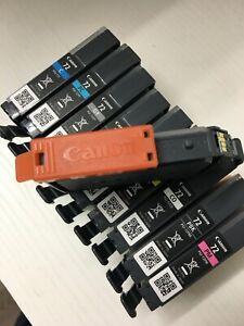 Canon PGI-72 Complete Empty OEM Ink 10 Cartridge Set With Orange Caps