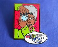 ebay Live 2008 Chicago Granny Camera Hero Collector Lapel Hat Pin