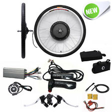 "26"" 48V 1000W E-bike Di Conversione Kit Ruota Anteriore Electric Bike Motor DE"