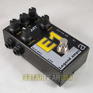 AMT Electronics Guitar Preamp E-1 Pedal (Legend Series) emulates ENGL Fireball