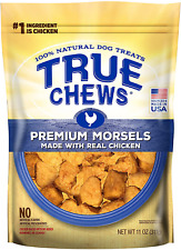 True Chews Premium Morsels Made With Real Chicken Natural Ingredients 11oz