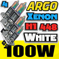 H1 100w super blanca Xenón (448) Faro Bombillas 12v Coche Furgoneta