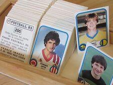 PANINI FOOTBALL 83 - 1983 - PLUS DE 350 IMAGES NEUVES DISPONIBLES !