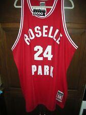 NEW RICK BARRY ROSELLE PARK HIGH SCHOOL JERSEY, MEN'S SIZE 56, LEGENDS