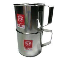 cup mug jug coffee tea milk wine beer water pot drink hot cools stainless steel