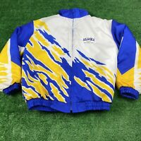 Vintage Hartwell Sports Alaska The Great Land Jacket Size Medium Men's Colorful