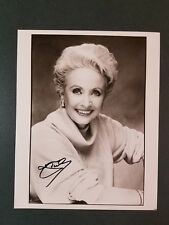 Jane Powell-JSA cert-signed photo(pose 2)