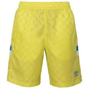 Umbro Men's Tri-Check Soccer Shorts, Color Options