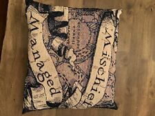 Harry Potter Mischief Managed Square Throw Pillow 20inches