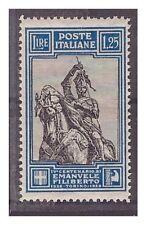 REGNO 1928  -  EMANUELE FILIBERTO - LIRE 1,25  DENT. 13 3/4   NUOVO  ** SPL