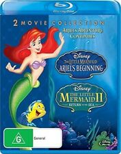 Ariel's Beginning / Little Mermaid 2: Return To The Sea [New Blu-ray]