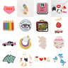 Cartoon Glitter Pin Brooches Collection Backpack Cute Enamel Badge Shirt Gift