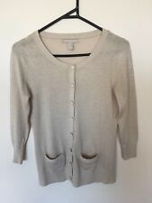 Gold/Beige shimmery cardigan - Banana Republic - Size XS