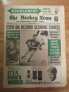 The HOCKEY NEWS Jan 29 1971 Newspaper PHIL ESPOSITO BOBBY ORR BOSTON BRUINS
