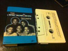 Triumph The Jacksons Cassette Can you Feel it Heartbreak Hotel Epic Motown CBS