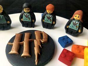 Edible Lego Harry Potter Inspired Cake Topper
