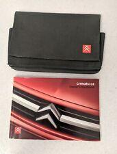 CITROEN C1 C2 C3 C4 C5 C8 PICASSO Owners Handbook Manual Book WALLET