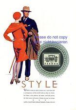 Karosseriebau Fisher US Reklame 1928 Design für Cadillac LaSalle Buick Pontiac +