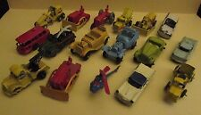 Vintage TOOTSIE TOY Mini Cars & Trucks Lot of 17 VG- to VG+