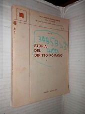 STORIA DEL DIRITTO ROMANO Simone 1977 libro diritto manuale giuridica corso di