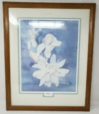Wild Rose Don Iverson Limited Print 68/1000 Framed Matted Flowers Watercolor COA