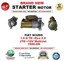 FOR FIAT SCUDO 1.9 D TD +Eco 2.0 JTD +16V MultiJet 1996-ON STARTER MOTOR 13Teeth