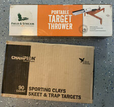 New Field & Stream portable target thrower, 90 ct. skeet, 30 lbs, local pickup