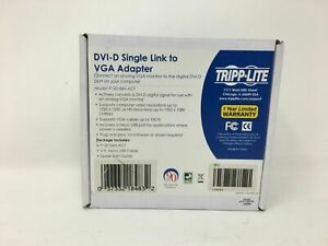 Tripp Lite DVI-D Single Link To VGA Adapter