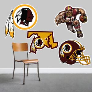 Washington Redskins Wall Art 4 Piece Set Large Size------New in Box------