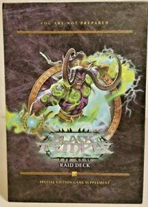 Black Temple Raid Deck Upper Deck World of Warcraft Trading Card Game