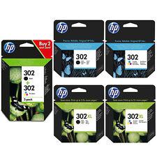HP 302 Combo / 302XL Noir & Tricouleur Cartouche d'encre pour Deskjet 1110