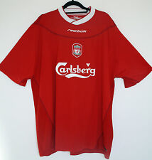 "EX! Liverpool FC 2002/2003/2004 L LARGE Home Shirt  Adult Mens 42"" - 44"""