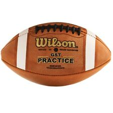 Wilson® 1003 Gst Leather Practice Football