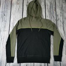 Mens True Religion Hoodie in Khaki Green and Black. Stunning Size Medium RRP £99