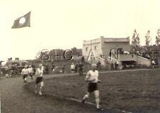 WWII German RP- Soldier- Semi Nude- Sport Uniform- Eagle- Sports Stadium- Shorts