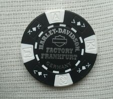 "1 originaler Harley Davidson Pokerchips "" Factory Frankfurt  Germany"""
