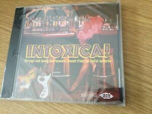Cd album Various: Intoxica !(Strange & Sleazy Instrumentals Sounds..)(sealed)