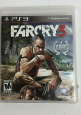 Far Cry 3 (Sony PlayStation 3, 2012) Complete with Manual PS3
