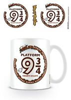 Official Harry Potter Kawaii Platform 9 3/4 Mug Magic Wizard Spell HP Gift