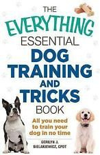 USED (GD) The Everything Essential Dog Training and Tricks Book: All You Need to