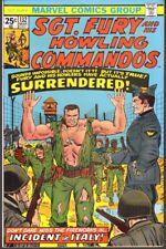 SGT. FURY AND HIS HOWLING COMMANDOS #132 FINE (Marvel 1976)
