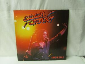 "Eddy Grant ~ ICE ~ Love in Exile ~ 12"" Record Album ~ 1980 Ice Record/Virgin"