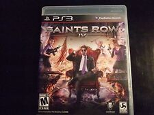 Replacement Case (NO GAME) SAINTS ROW IV PLAYSTATION 3 PS3