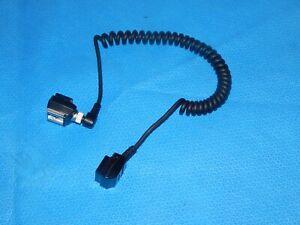Minolta Off Camera Flash Cord OC-1100 w/Minolta Hot Shoe