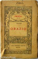 1939 Terzaghi - ORAZIO - Profili Casa Editrice Bietti - n°112